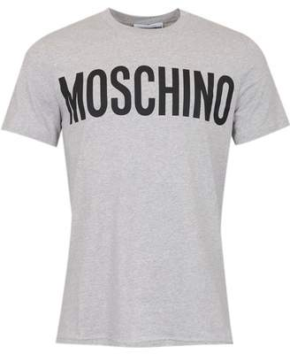 Moschino Couture Large Logo T-shirt Colour: BLACK, Size: SMAL