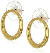 """Trina Turk Hollywood Hills"""" Post Hoop Earrings"""