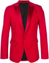 DSQUARED2 tuxedo lapel blazer - men - Silk/Cotton/Polyester - 46