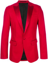 DSQUARED2 tuxedo lapel blazer - men - Silk/Cotton/Polyester - 50