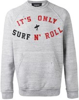 DSQUARED2 printed sweatshirt - men - Cotton - S