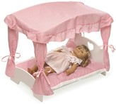 The Well Appointed House Canopy Doll Bed w/Bedding