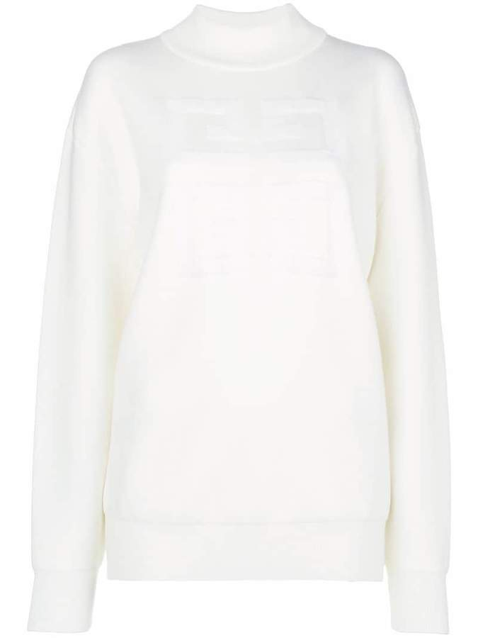 Givenchy 4G logo high-neck sweatshirt