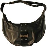 Christian Dior Street Chic Hobo Black Leather Handbags