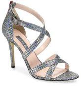 Sarah Jessica Parker Strut Strappy Sparkle Sandals