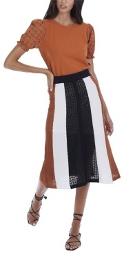 Allison New York Women's Paneled Skirt