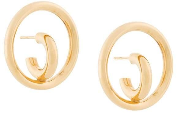 Charlotte Chesnais Saturn Blow Medium earrings