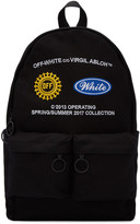 Off-White Black Work Backpack