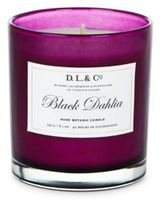 D.L. & Co. Black Dahlia Rare Botanic Candle/8.1 oz.