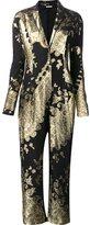 Ungaro embellished baroque effect jumpsuit