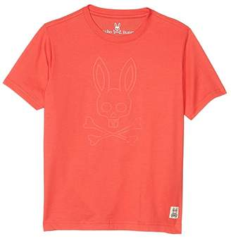 Psycho Bunny Kids Westcott Graphic Tee (Toddler/Little Kids/Big Kids) (Hibiscus) Boy's Clothing