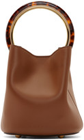 Marni Brown Small Pannier Bag