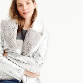 J.Crew Collection reversible shearling jacket