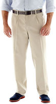 Lee Stain Resist Pleated Pants-Big & Tall