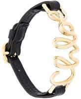 Chloé logo cuff bracelet