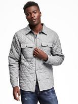 Old Navy Quilted Wool-Blend Jacket for Men
