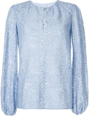 No.21 Lace Peasant Blouse