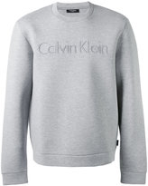 Calvin Klein logo sweatshirt - men - Cotton/Spandex/Elastane/Lyocell/Viscose - M