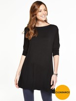 Very 3/4 Sleeve Easy Tunic