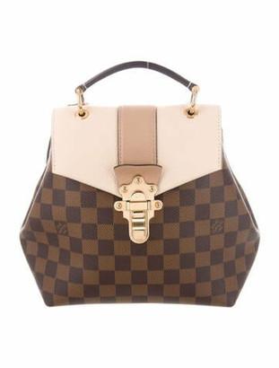 Louis Vuitton 2018 Damier Ebene Clapton Backpack Brown