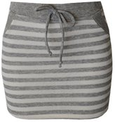 MonsterCloset Striped Mini Skirt