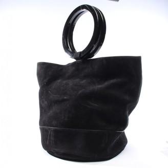 Simon Miller Black Suede Handbags