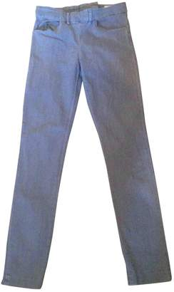 Acne Studios \N Grey Denim - Jeans Trousers