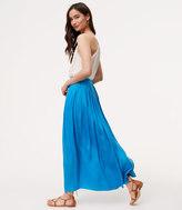 LOFT Petite Pocket Maxi Skirt