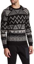 Antony Morato Printed Knit Sweater