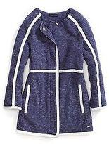 Tommy Hilfiger Big Girl's Sherpa-Lined Fleece Jacket