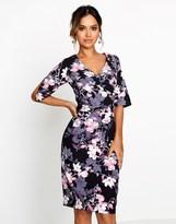 Paper Dolls Blossom Print Bodycon Dress