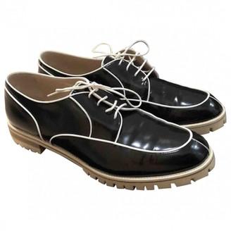 Fratelli Rossetti Black Patent leather Lace ups