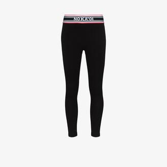 NO KA 'OI Grace logo print leggings