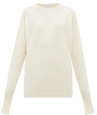 Raey Raglan-sleeve Boyfriend Cashmere Sweater - Womens - Ivory