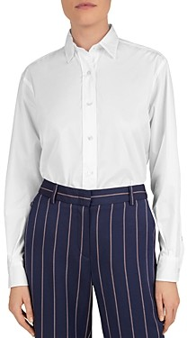 Gerard Darel Button-Up Cotton Shirt