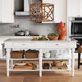 Williams-Sonoma Williams Sonoma Larkspur Marble-Top Kitchen Island