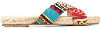 Solange Jacquard Sandals