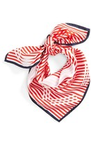 Kenzo Women's Graphic Square Silk Scarf