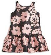 Milly Minis Toddler's & Little Girl's Floral Print Drop-Waist Dress