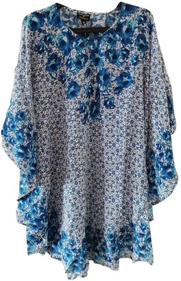 Tolani Blue Silk Dress for Women