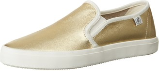 Marc O'Polo Womens 70213943502110 Sneaker Low-Top Sneakers Gold Size: 6.5