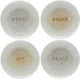 Mikasa Cheers Confetti Set of 4 Salad Plates