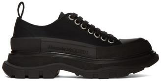 Alexander McQueen Black Canvas Sneakers