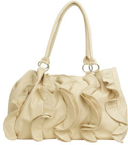 Arden B Ruffle Front Tote