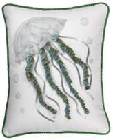 Rightside Design Jellyfish Applique Pillow