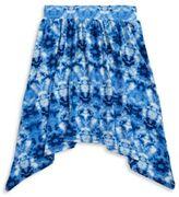 Planet Gold Girls Tie-Dye Skirt