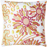 "Trina Turk Floral Pillow, 20""Sq."