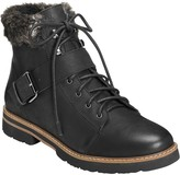 Aerosoles Lace Up Nubuck Boots - Open Book