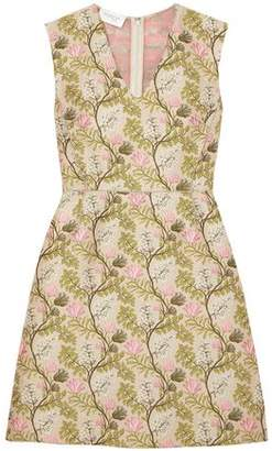 Giambattista Valli Floral-jacquard Dress