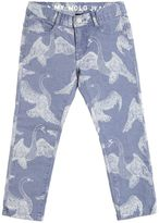 Molo Swans Print Ultra Stretch Denim Jeans